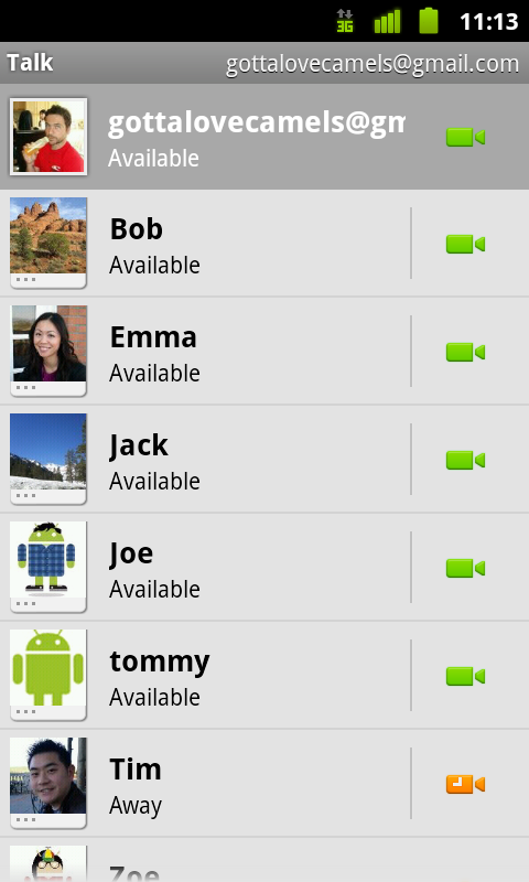 gmail app for android 2.3
