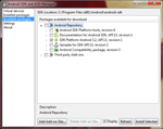 android 3.2 sdk manager