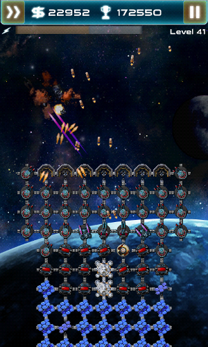 asteroid tower defense battle