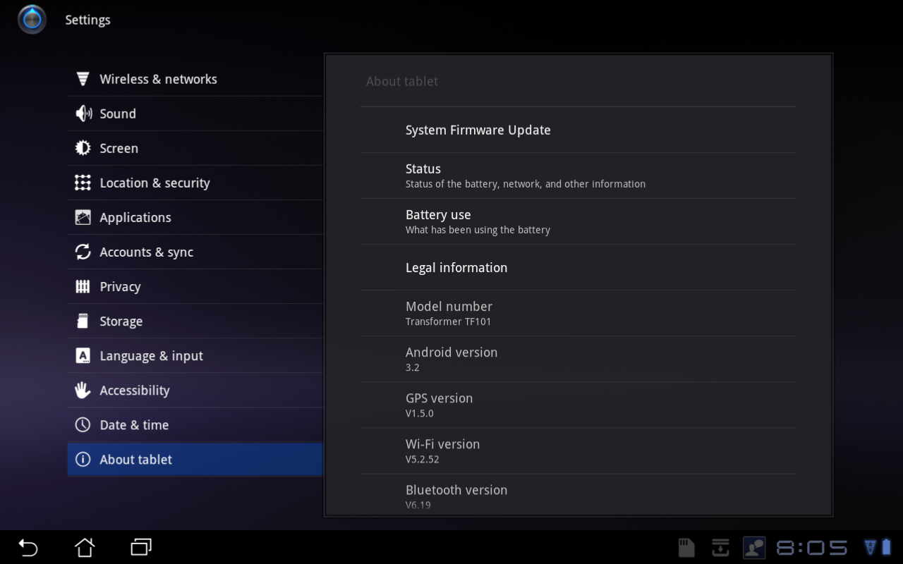 [Update 7/28: Rolling Out Now] Android Honeycomb 3.2 ...