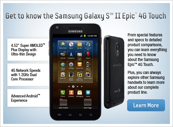 [Updated: Full Specs Added] 4.52-Inch Samsung Galaxy S II ...