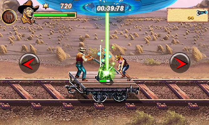 First Look] GameLoft Releases A 'Cowboys & Aliens' Game To