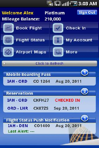 United Airlines Releases Android App With Post Merger Support For