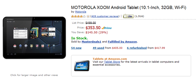 Moto Xoom
