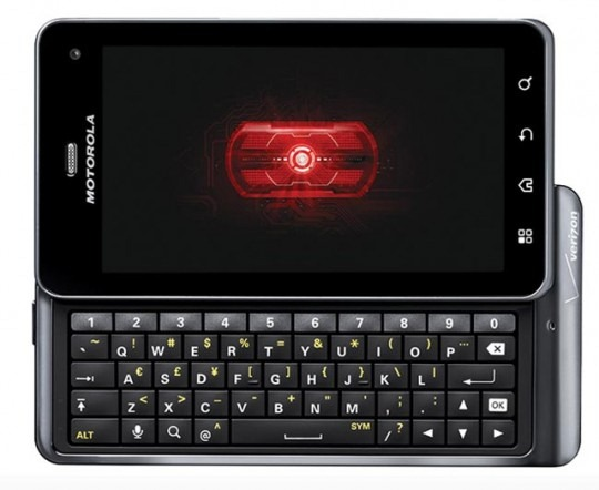 Droid 3 Currently Receiving Update To Build 5 6 890 - Includes