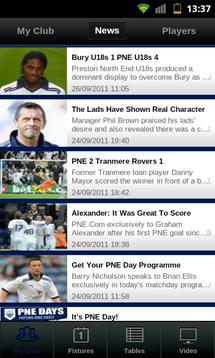 football league clubs app news