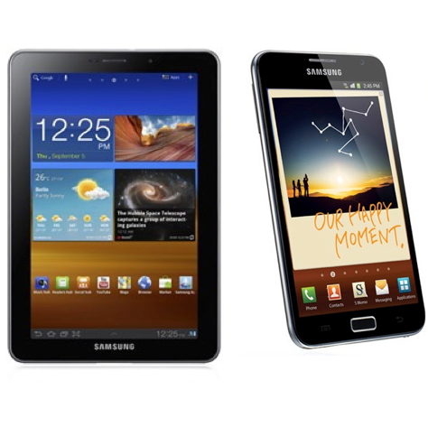 Galaxy Tab 7.7 And Galaxy Note Not In The Pipelines, Says Samsung Rep