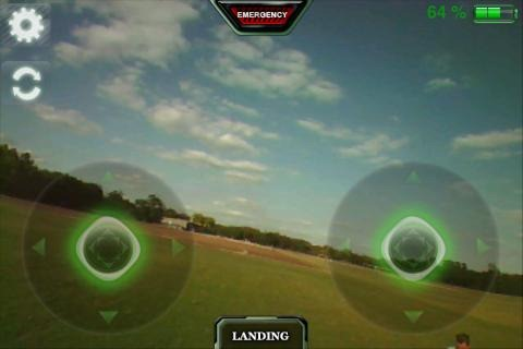 Parrot AR Drone + AR FreeFlight Control App Review: One