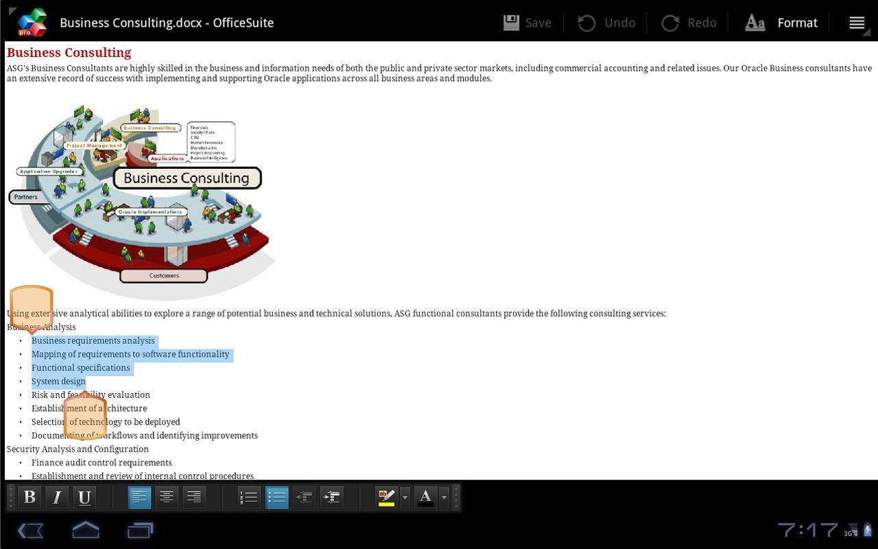OfficeSuite Pro v4.0.364 скачать бесплатно.
