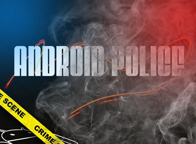 Android police contest smoke