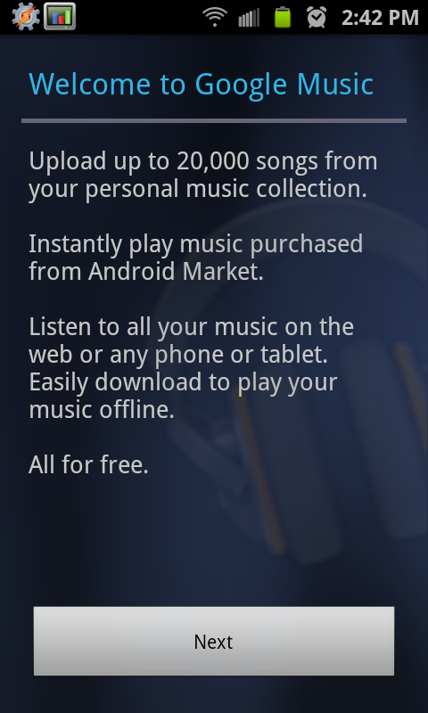 android market app update download