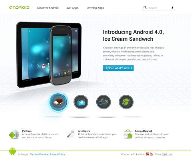 android-web-site
