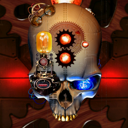 Add some clockwork flare to your home screen with for Steampunk wallpaper home