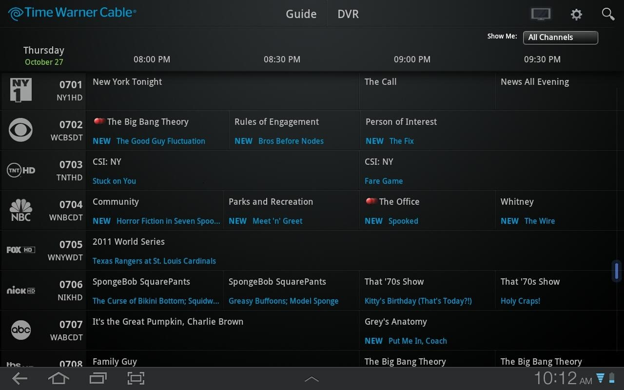 Time Warner Cable Releases Official App, Makes Your ...