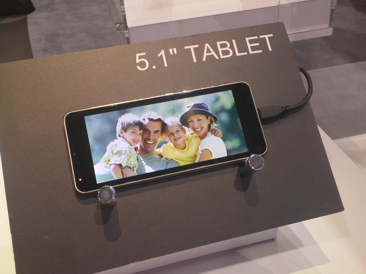 Ces 2012 toshiba unveils 5 1 7 7 and 13 3 android for 13 inch table
