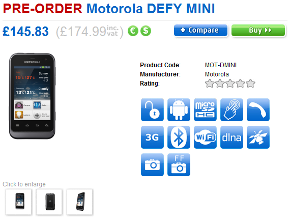 defy mini