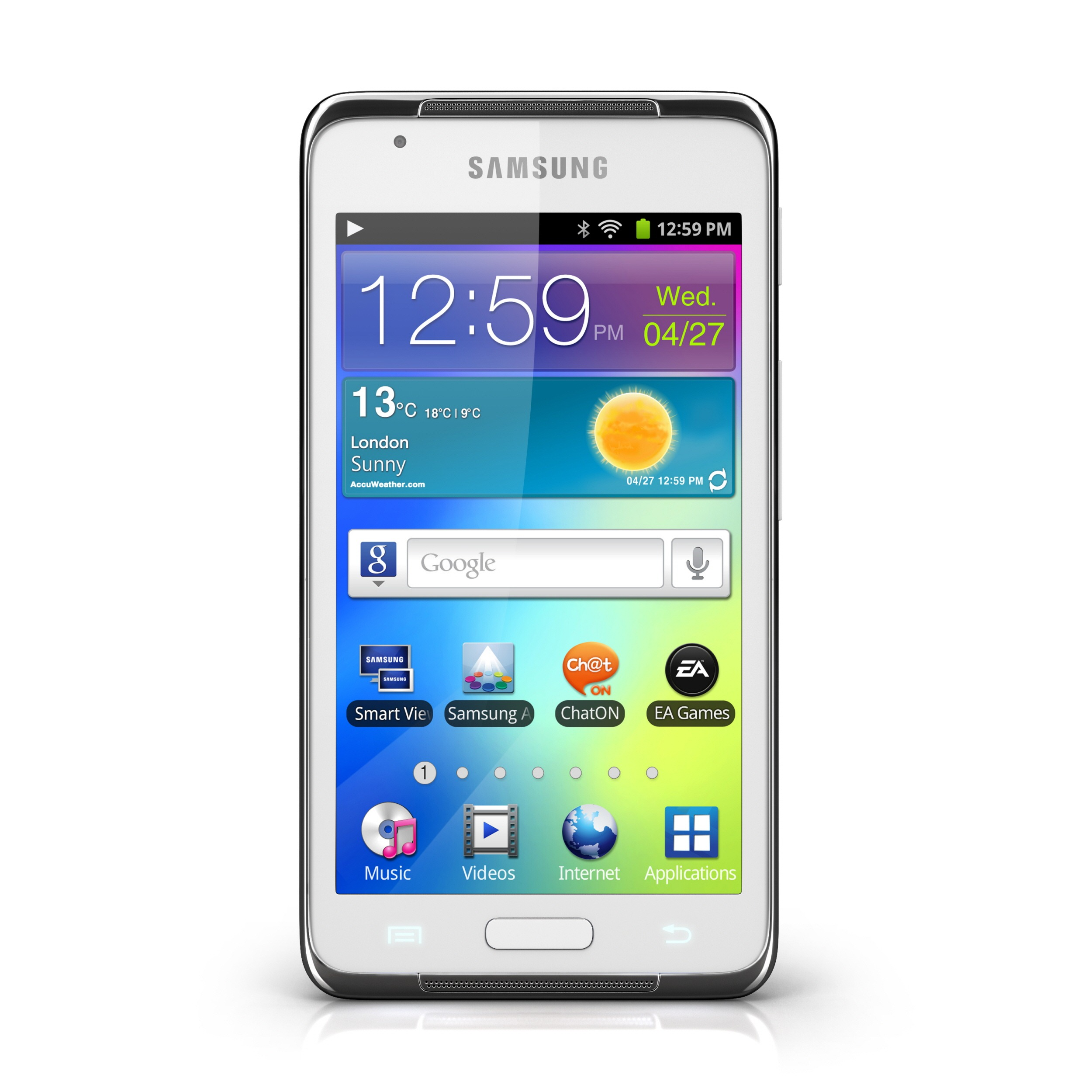 MWC 2012] Samsung Announces Galaxy S WiFi 4.2, For The Android ...