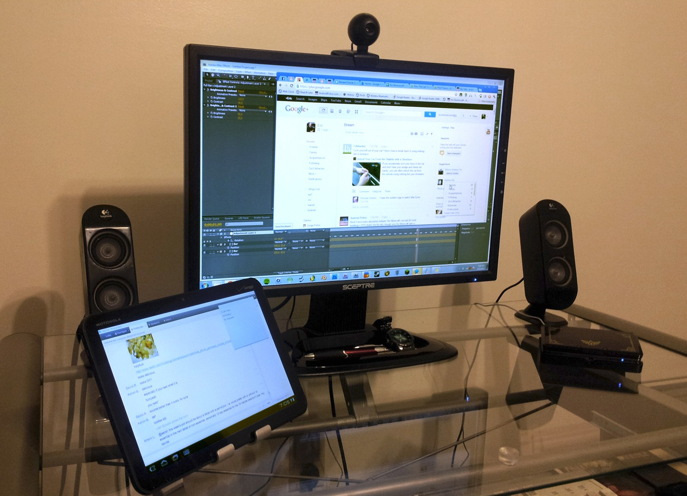 how to use android tablet as second monitor