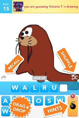 New Game Draw Something Is Like Words With Friends For People Who