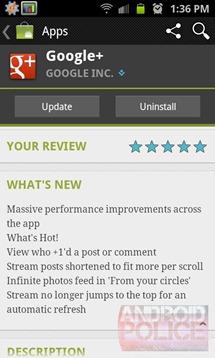 google update screenshot