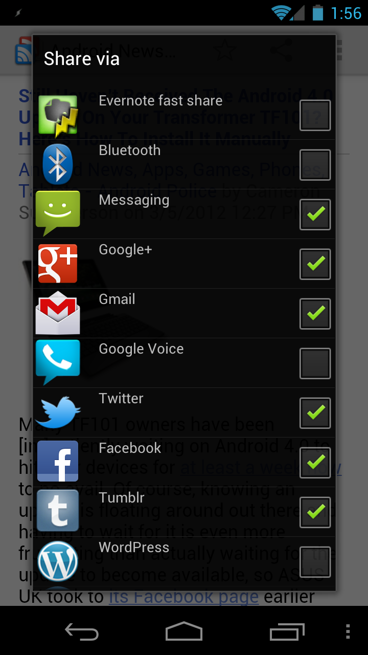 Android Apps On Google Play: [New App] Andmade Share Replaces Android's Default Share