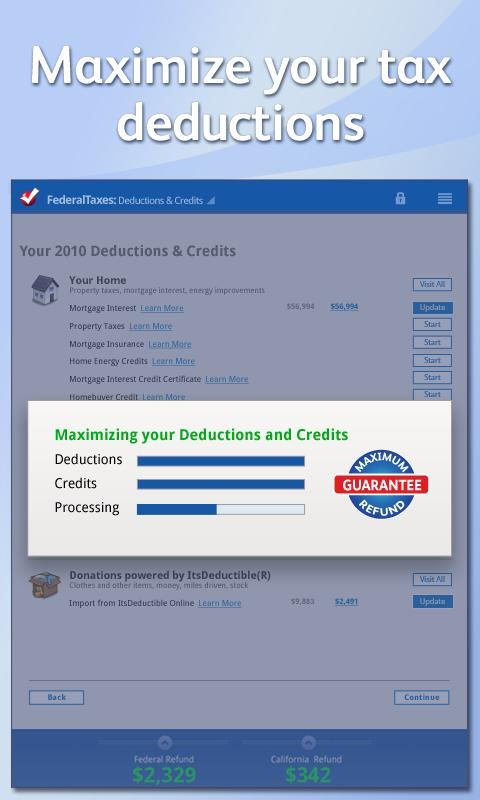 Intuit Releases Turbo Tax 2011 For Android Tablets, Makes Filing