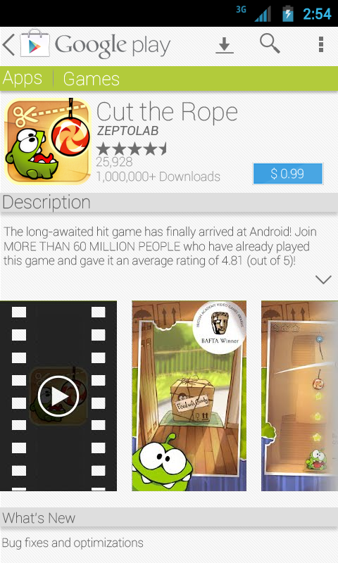 3 - app listing