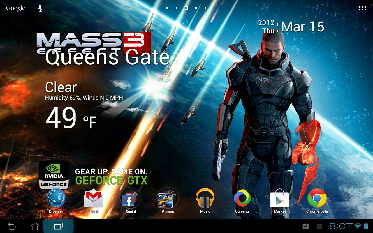 Nvidia And Bioware Release Mass Effect 3 Lwp For Tegra Devices
