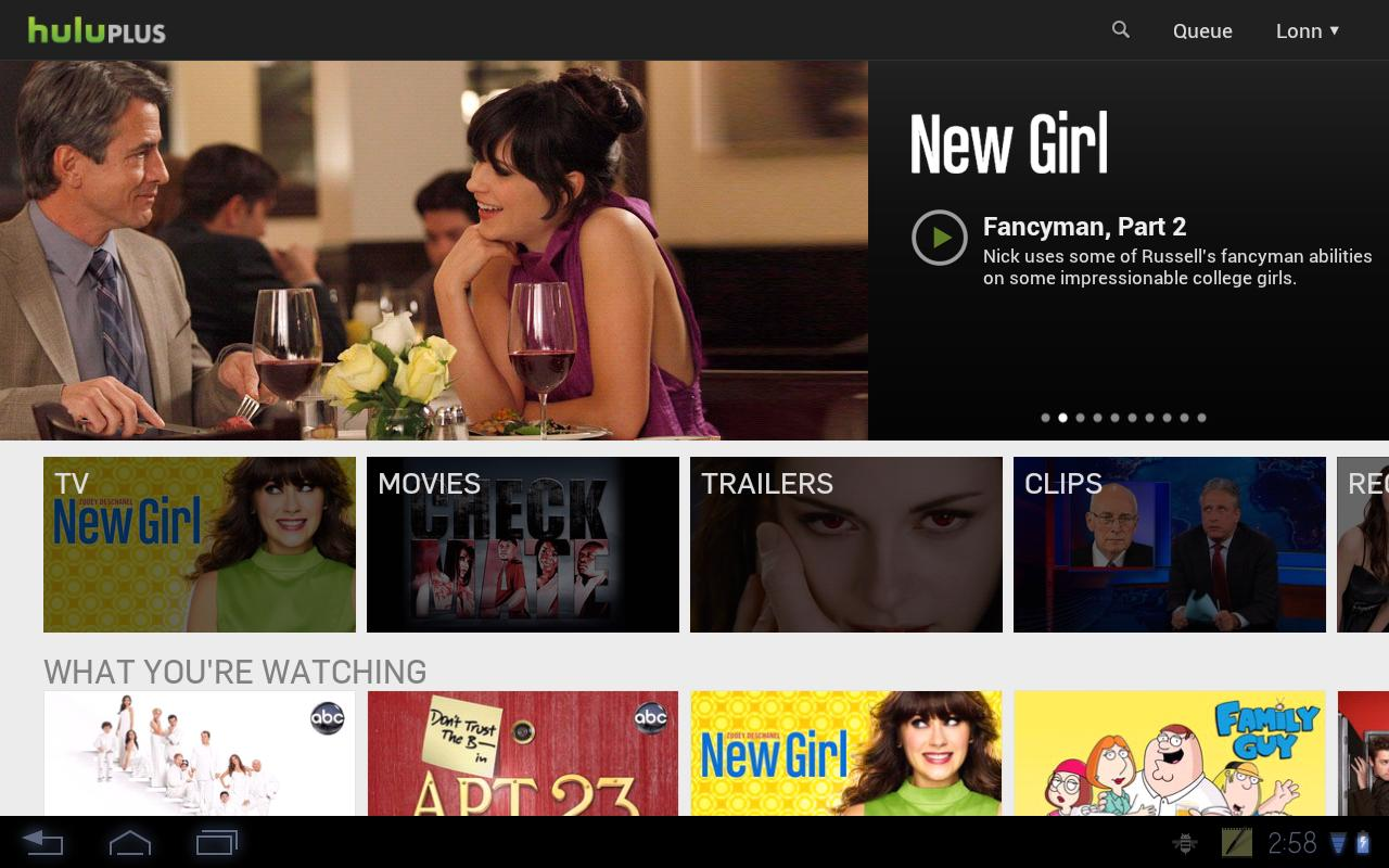 Hulu Plus Update Finally Brings Tablet-Optimized UI To Select Devices