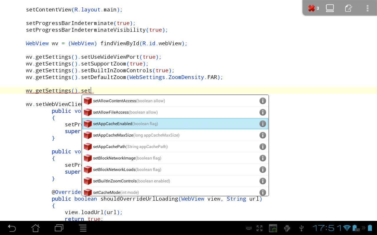 New App] Impressive: AIDE Is An IDE That Lets You Write And