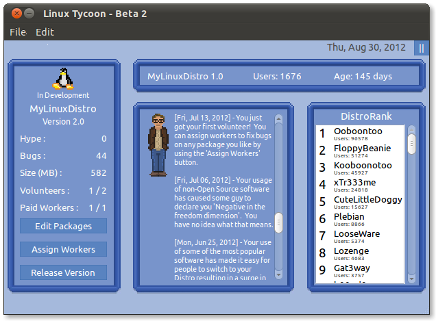 "Linux Tycoon, ""The Nerdiest MMO Ever Conceived,"" Headed To ..."