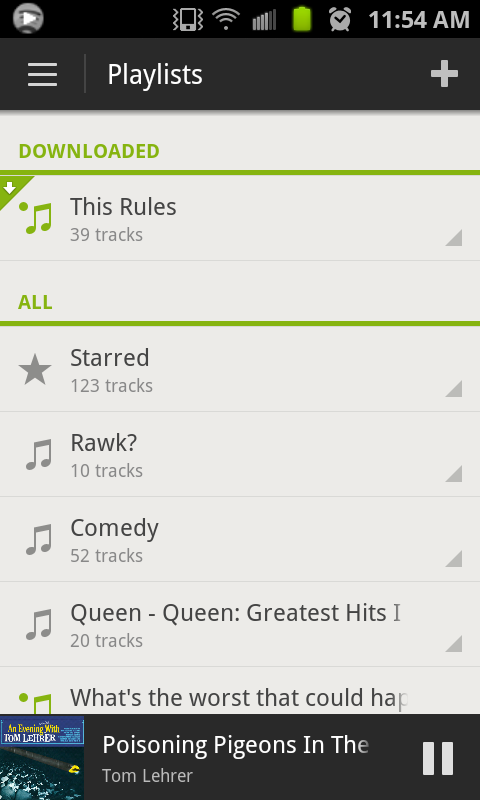 Spotify Shows Off All New Android App With Ics Support