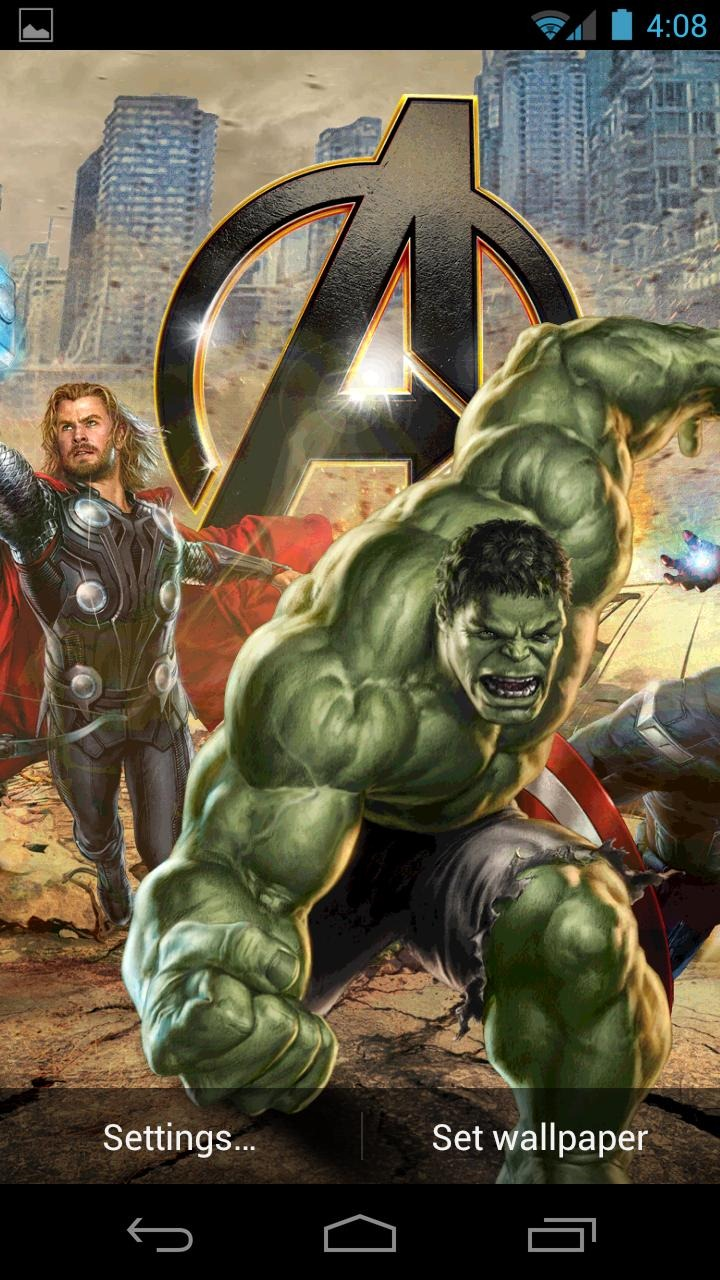 Updated] Hands-On Video: This Official Avengers Live Wallpaper Will