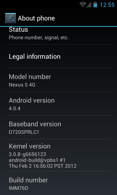 Download And Install The Official Android 4 0 4 (IMM76D) OTA For