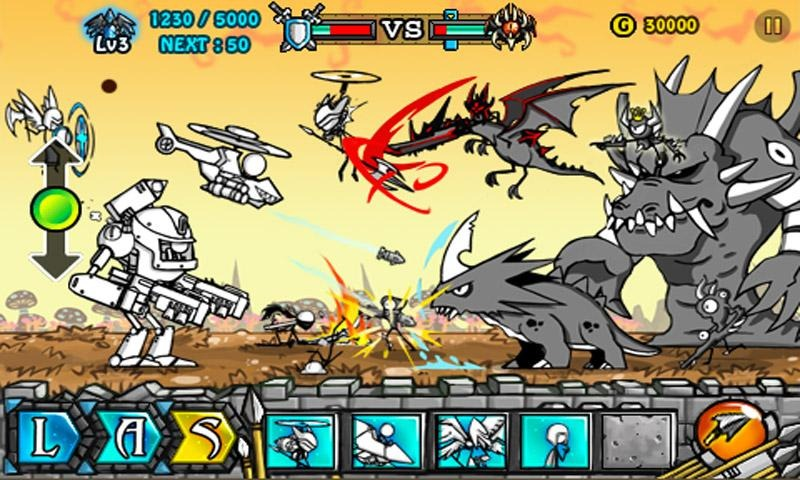 descargar cartoon wars gratis (android)