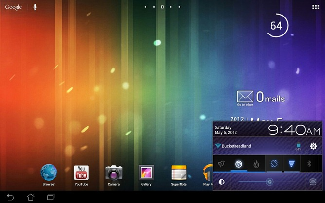 how to get out of fastboot mode acer iconia