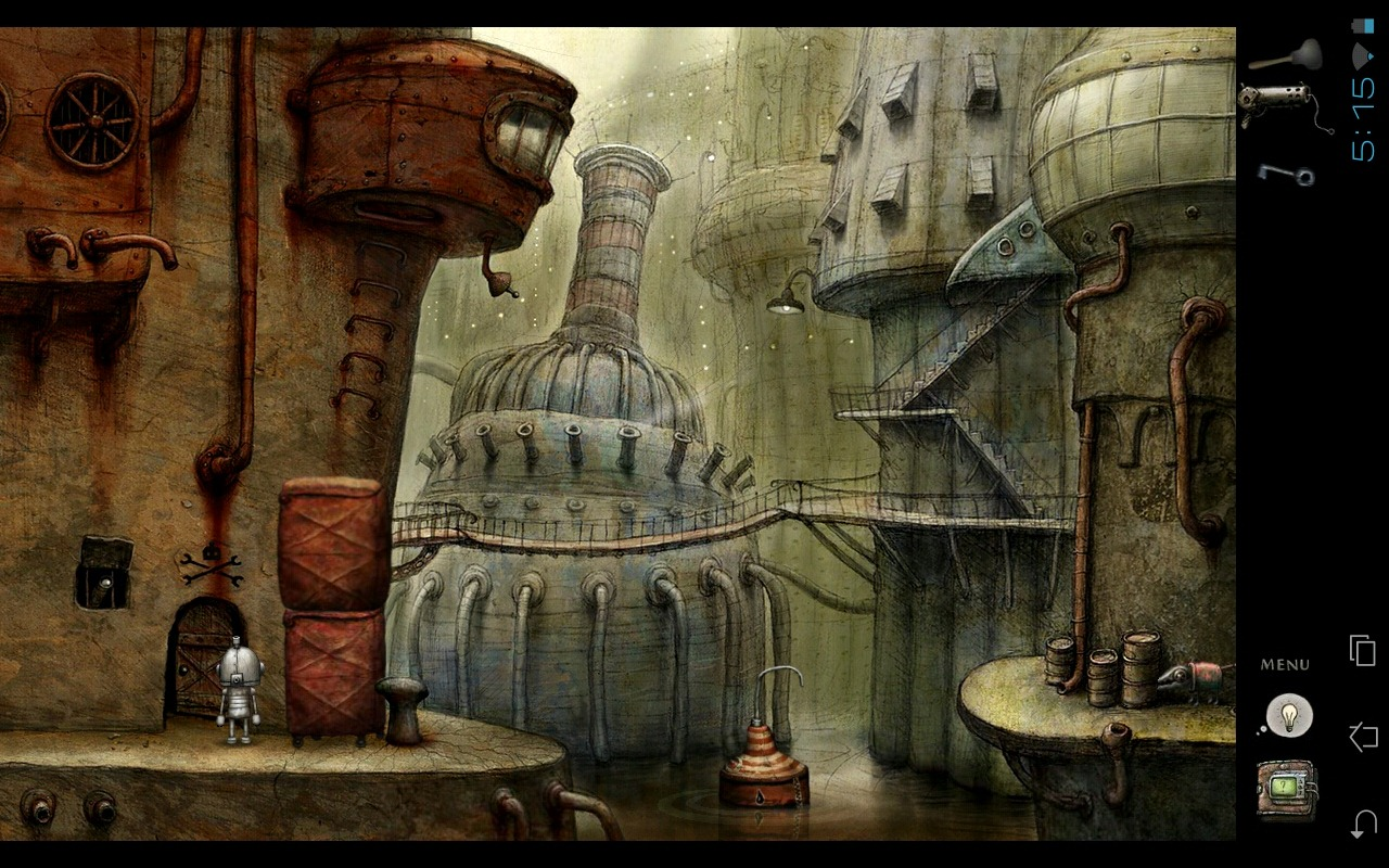 Machinarium For Android Game Review: The Best $4 You'll