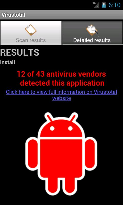 VirusTotal App Now Available For Android, Checks The