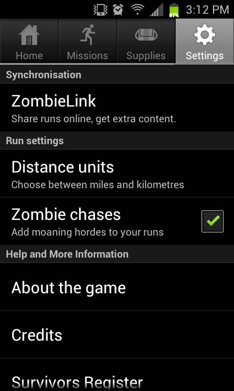 review zombies run is a fantastic app as long as you like