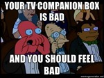 Zoidberg on Google TV