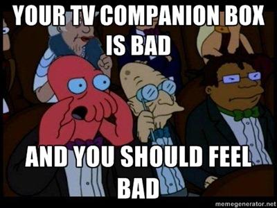 Zoidberg on Google TV