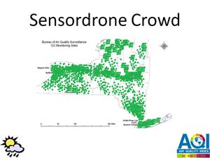 sensordrone maps