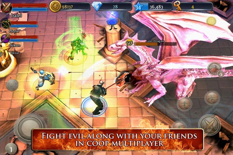 Игра Dungeon Hunter 3 для android скачать бесплатно.