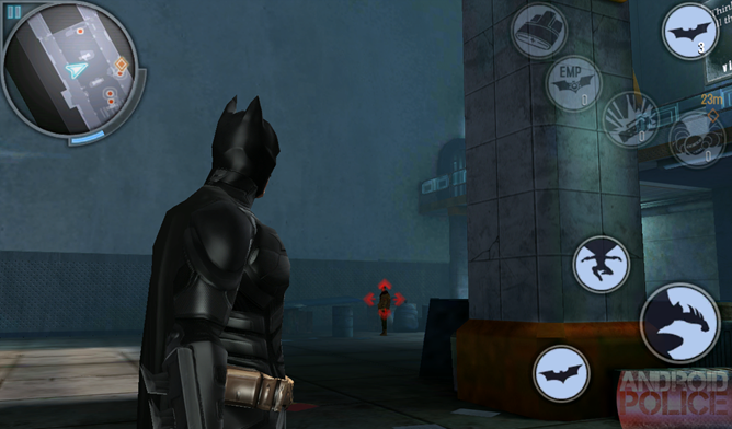 the dark knight rises free for android