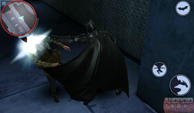 Game Review] The Dark Knight Rises For Android: Not The Game That