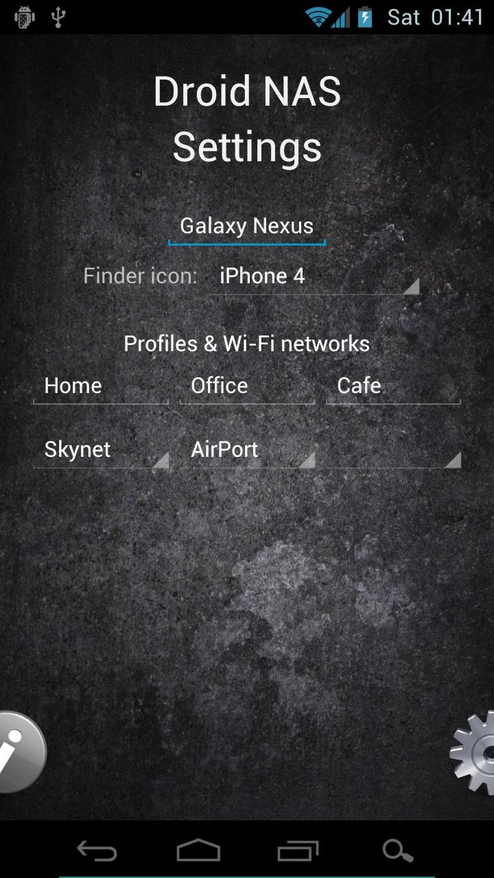 Nas Android