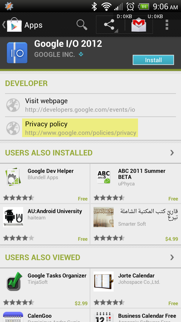Google Play Store Increases Transparency Now Lets App Developers - Android app privacy policy template