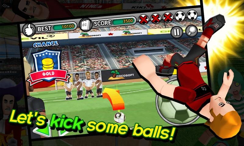 [New Game] GAMEVIL Distils Soccer Down To Its Addictive ...