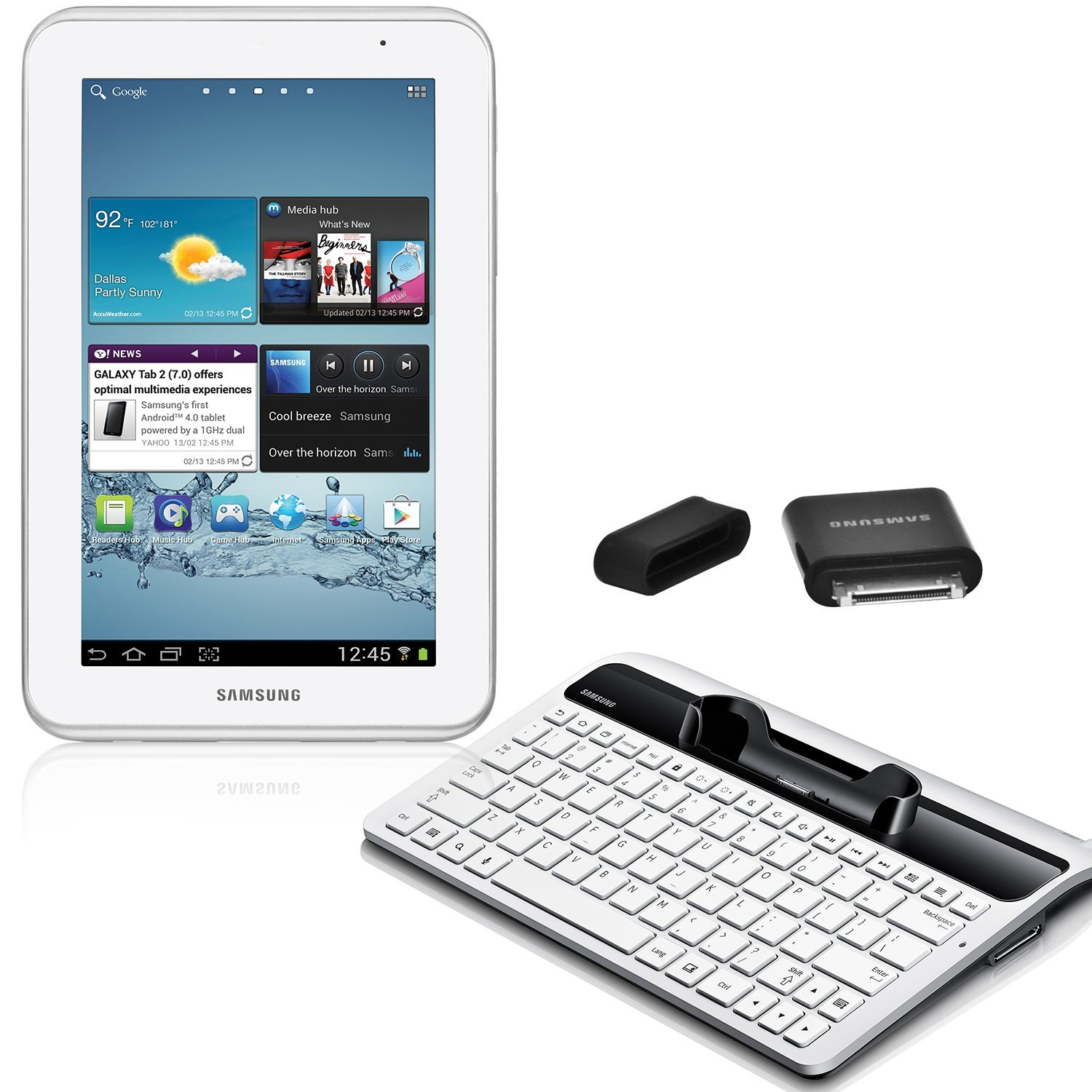 Samsung galaxy tab 2 7 0 student bundle now available for for Tablet samsung con porta usb