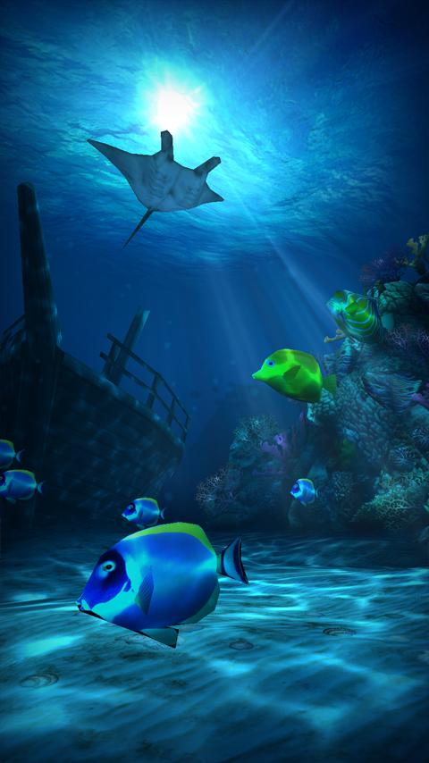 Dualboot games releases ocean hd its latest live wallpaper to hit the play store - Wallpaper game hd android ...